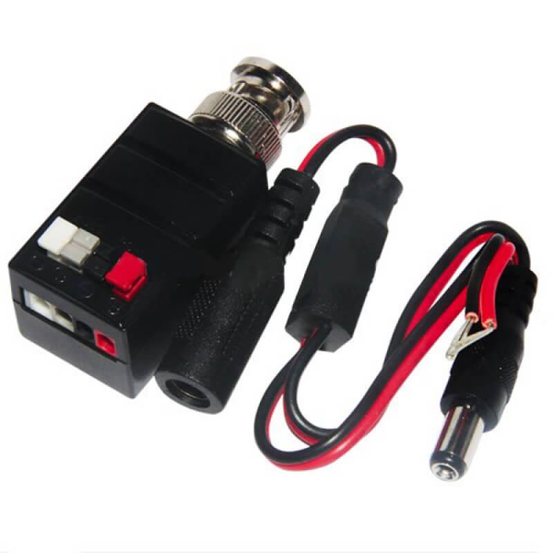 Ενεργό (με ενίσχυση) Video Balun HD-TVI, HD-CVI, AHD, με Προστατευτικό Υπέρτασης & Wave Filter, FOLKSAFE FS-HDA4501T
