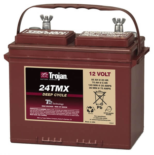 Battery Trojan 24 TMX 85Ah 12V Deep Discharge