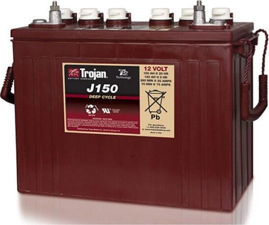 Battery TROJAN J150 PLUS 150Ah 12V