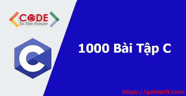 1000 Bài tập C - Lập Trình C