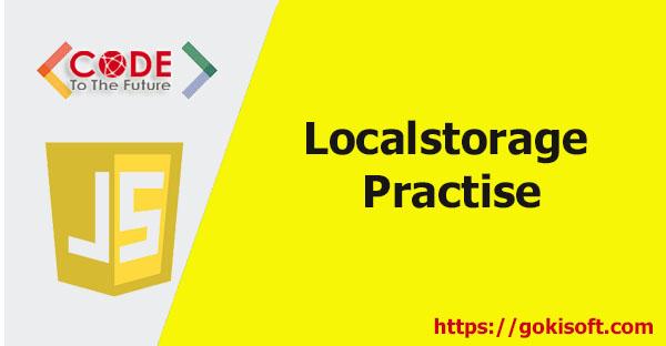 BT05. Ứng dụng localStorage - Khoá học lập trình JavaScript