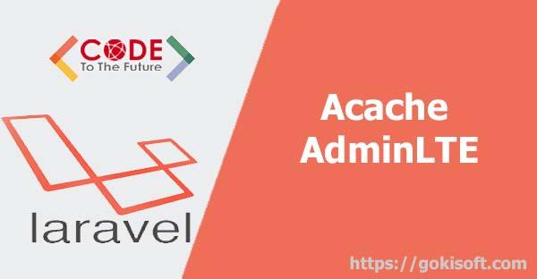 04. Hướng dẫn cài theme Acacha AdminLTE cho Laravel