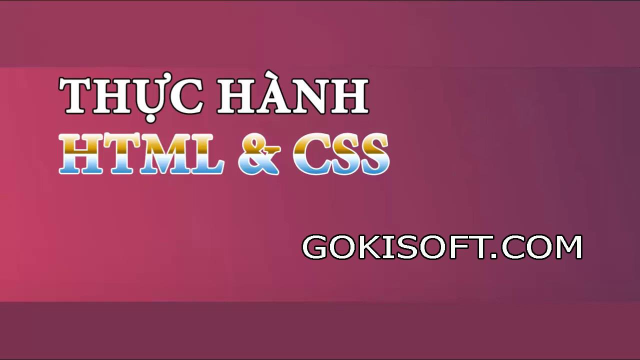 Thiết kế Form đăng ký tài khoản bằng HTML5/CSS - Thiết kế registation form HTML5/CSS