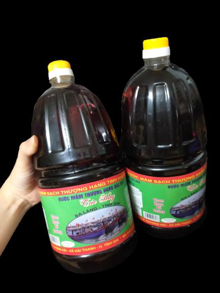 Nước mắm thượng hạng đặc sản Ba làng - Thanh Hóa (can 2l)