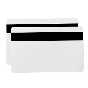 White PVC HiCo Mag Cards (500 Pack)