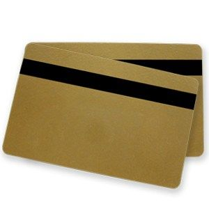 Gold PVC HiCo Mag Cards (500 Pack)