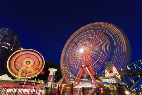 This year's Royal Melbourne Show saw the roll out of a smart cards payments system.