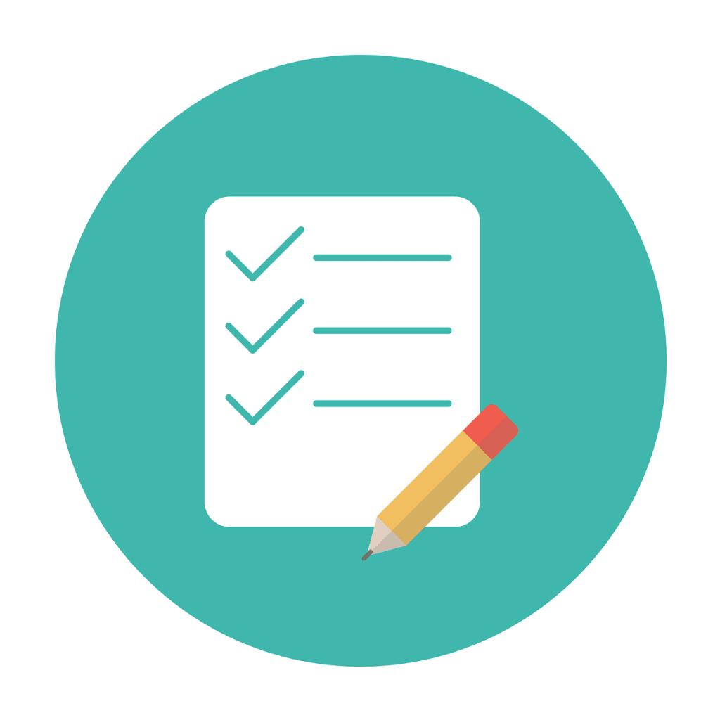 une checklist