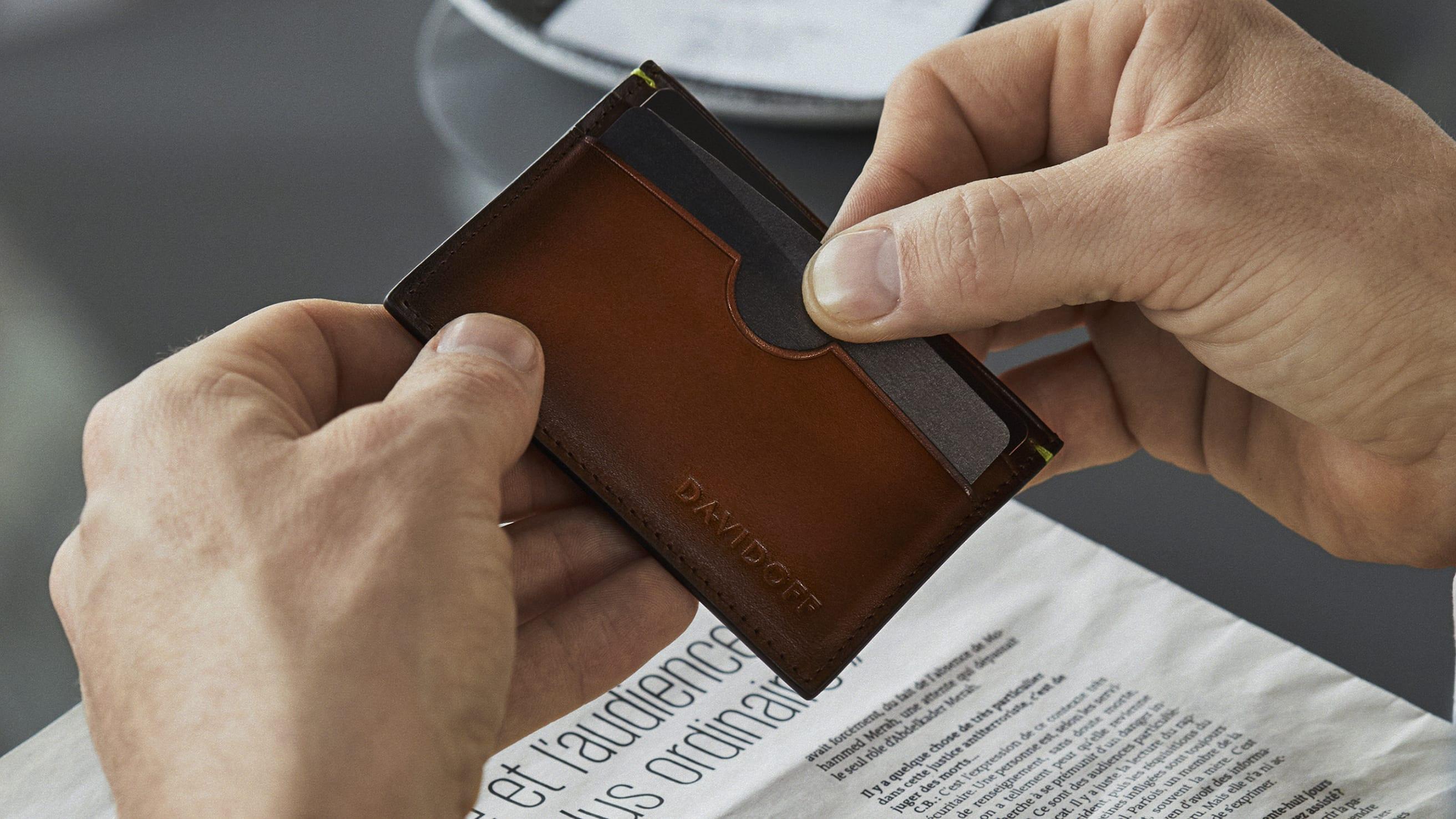 DAVIDOFF wallets