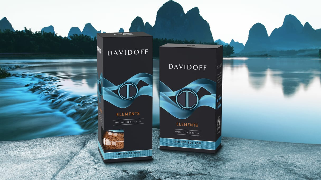 DAVIDOFF coffee - limited edition elements