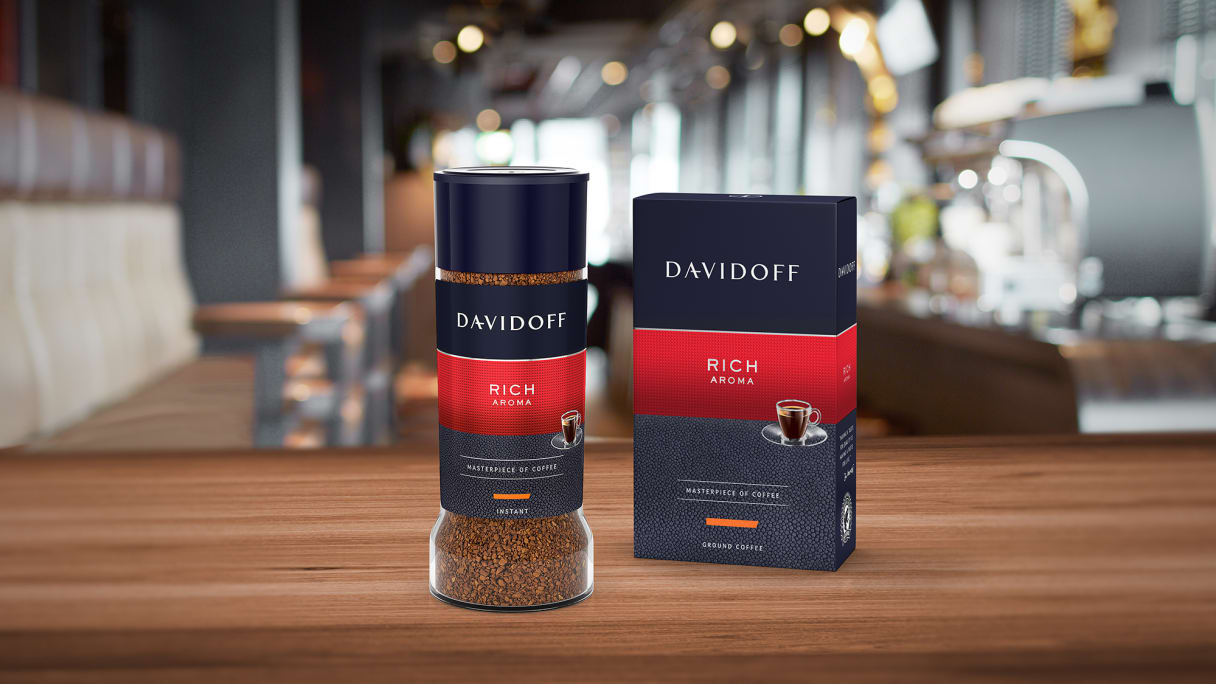 DAVIDOFF coffee – Rich Aroma