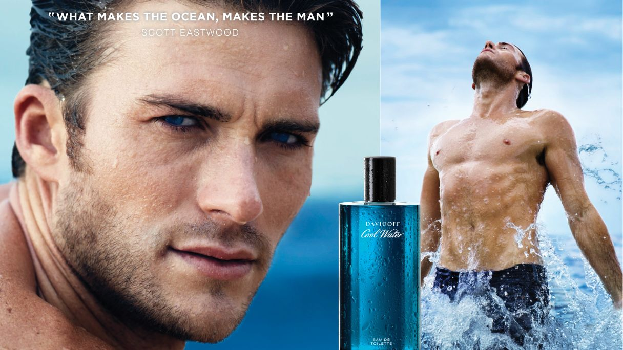 DAVIDOFF Cool Water Man campaign