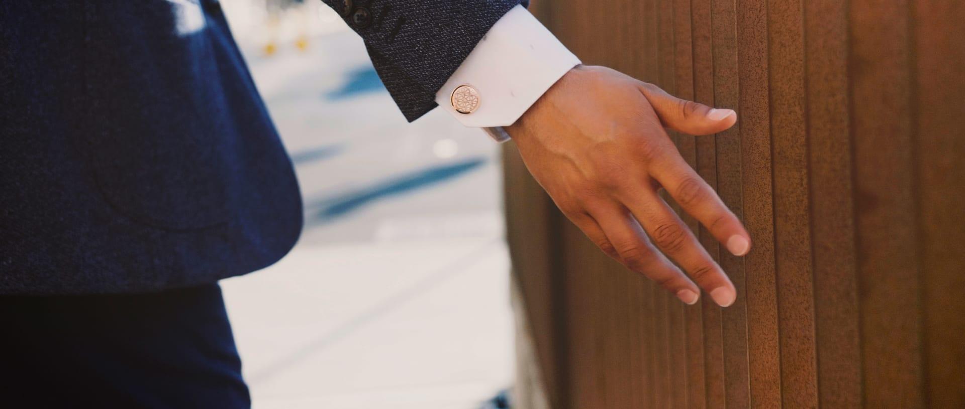 DAVIDOFF cufflinks & keyrings