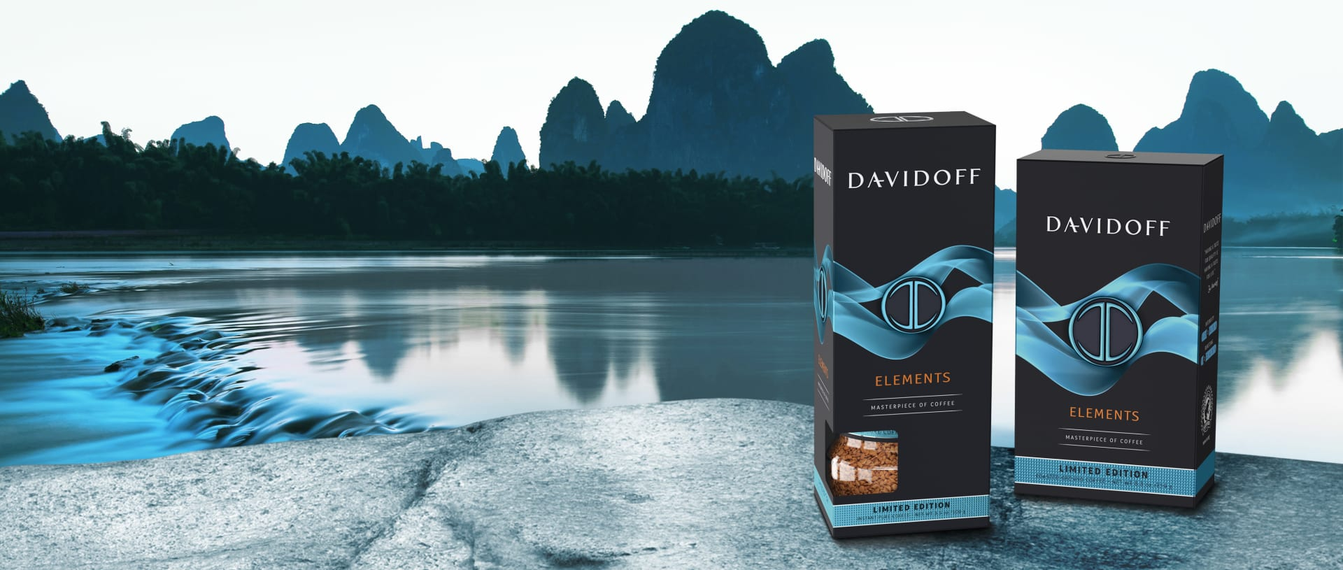 DAVIDOFF Coffee limited edition elements