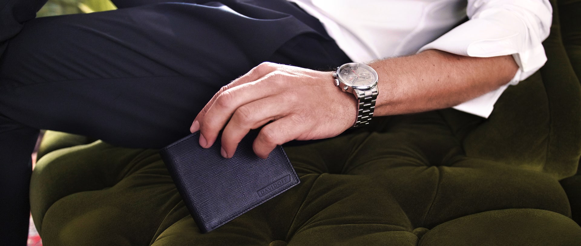DAVIDOFF – Leather goods