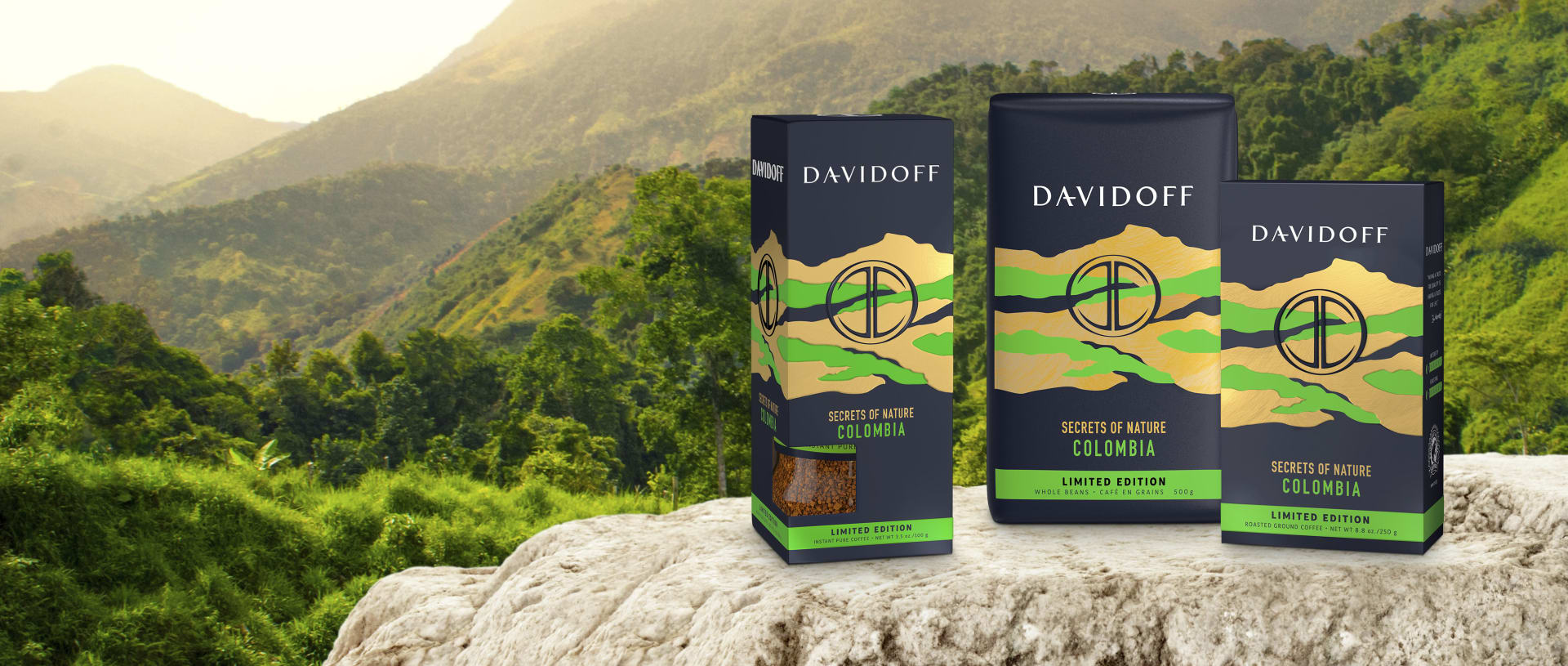 DAVIDOFF coffee - Limjited edition Colombia