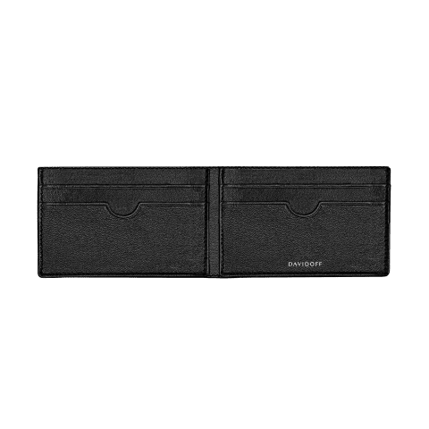 ESSENTIALS Inlay bifold 8CC - Black