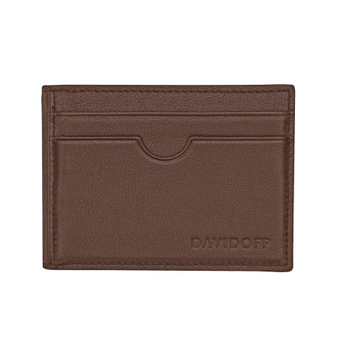 ESSENTIALS Inlay bifold 8CC - Brown