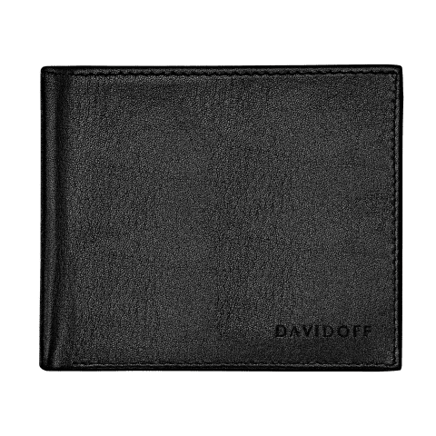 ESSENTIALS Wallet 6CC + 2 Pockets - Black