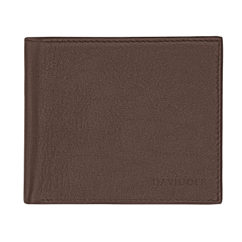 ESSENTIALS Wallet 5CC + 2 Pockets & Coin - Brown