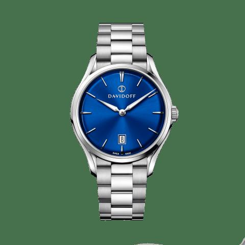 ESSENTIALS No. 1 Blue - Silver / Bracelet