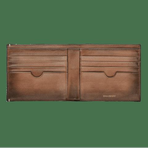 VENICE Wallet 8CC + 2 Pockets - Cognac