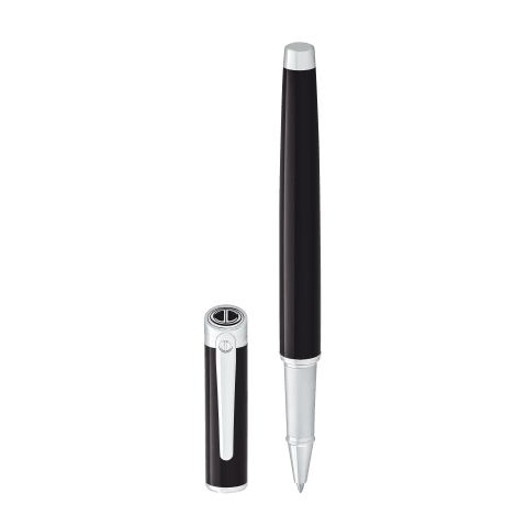 ESSENTIALS Rollerball - Chrome - Black