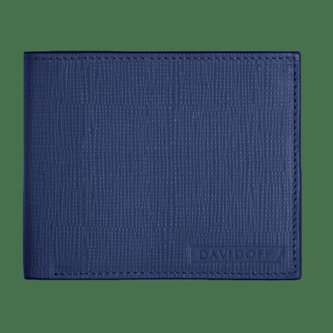 DAVIDOFF CROSSROADS blue wallet 6CC+2P