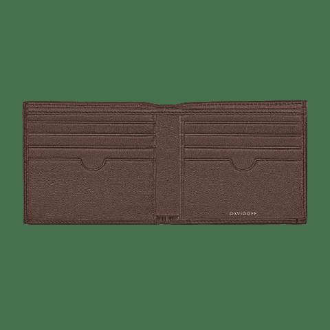 ESSENTIALS Wallet 8CC + 2 Pockets - Brown