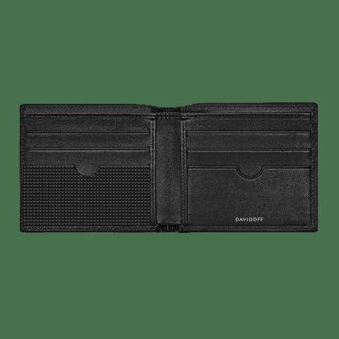 PARIS Wallet 6CC + 2 Pockets - Black