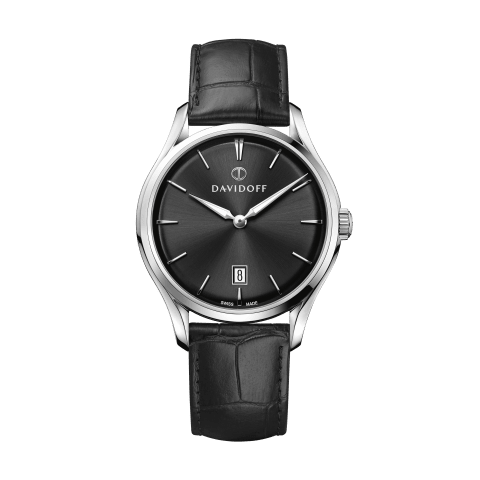 ESSENTIALS No. 1 Black - Silver / Leather