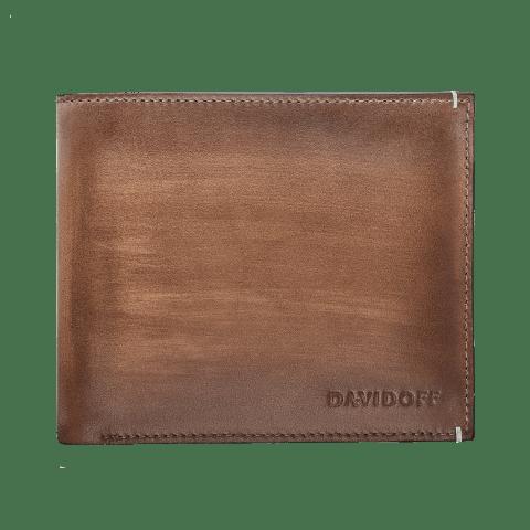 VENICE Wallet 6CC + 2 Pockets - Cognac