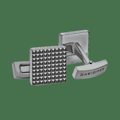 PARIS Cufflinks Square - Gun Metal