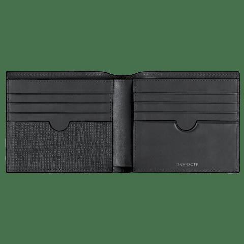 DAVIDOFF CROSSROADS wallet 8CC+2P inside