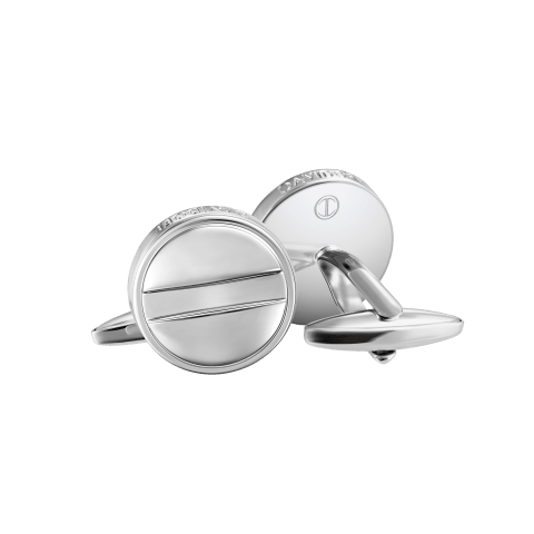 ESSENTIALS Cufflinks - ESSENTIALS Cufflinks - Round - Rhodium