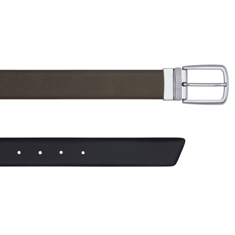 DAVIDOFF PARIS Belt - Grey / Black