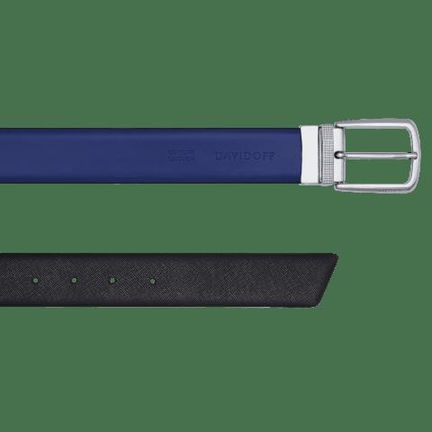 DAVIDOFF PARIS Belt - Blue / Black