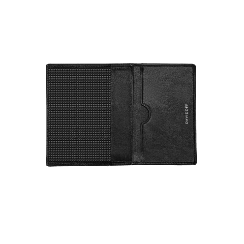 PARIS Credit card holder 2CC + 1 Pocket - Black