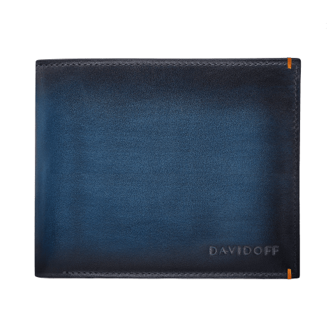 VENICE Wallet 8CC + 2 Pockets - Blue