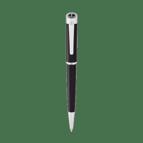 ESSENTIALS Ballpoint pen - Chrome - Black