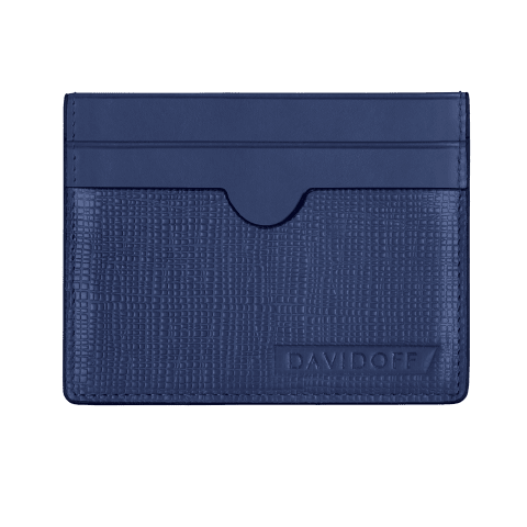 DAVIDOFF Blue Credit Card Holder