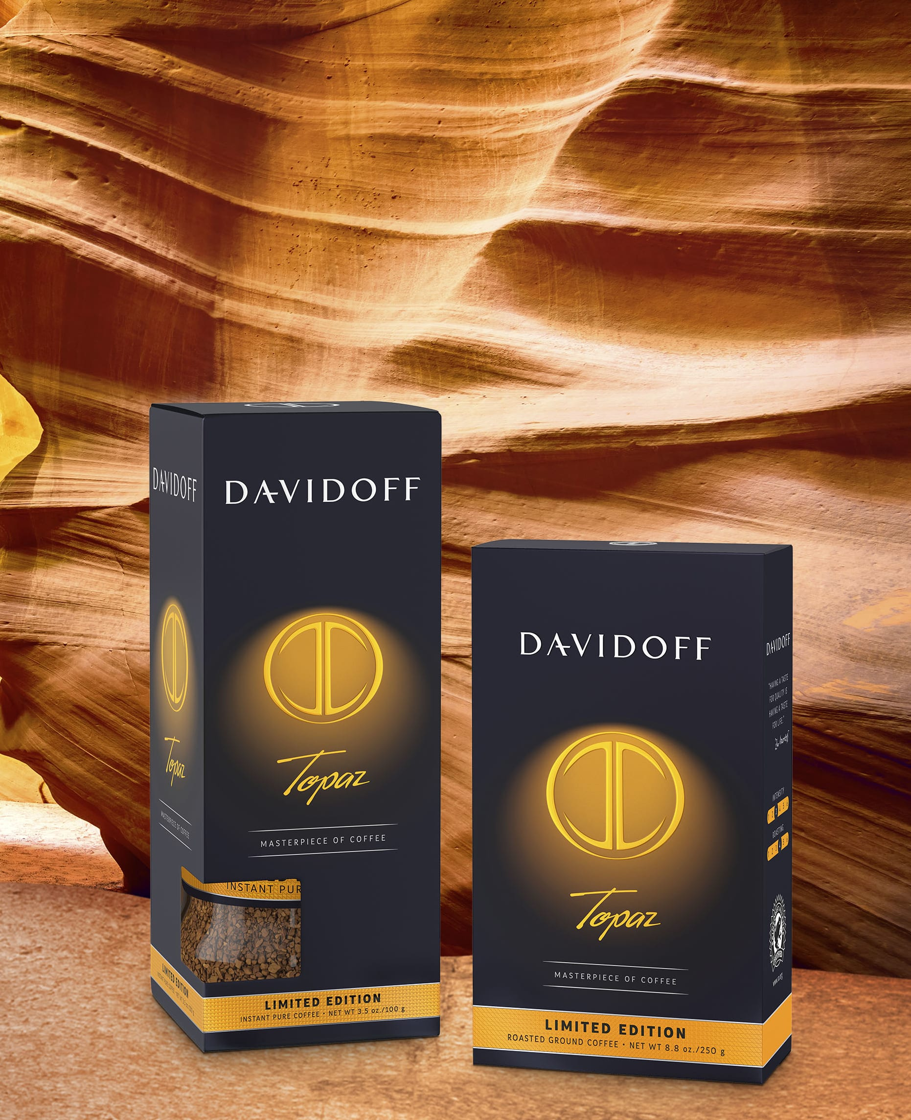 DAVIDOFF coffee - limited edition Topaz