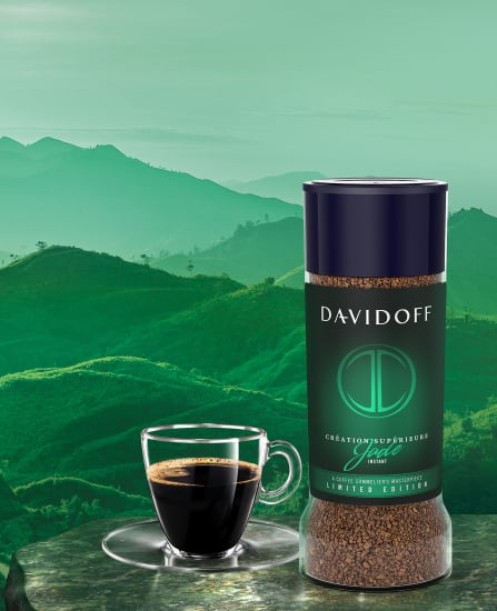 DAVIDOFF coffee – Limited edition JADE