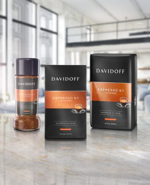 DAVIDOFF coffee – espresso 57