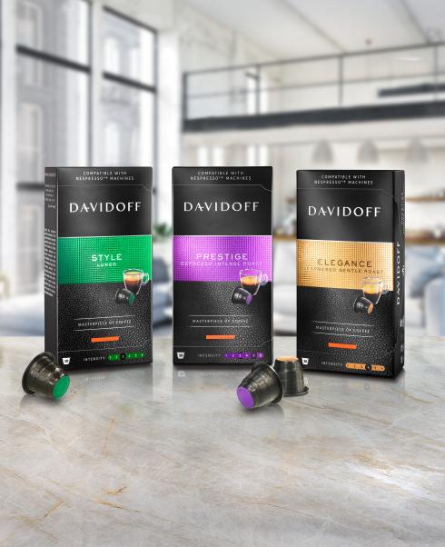 DAVIDOFF coffee – capsules