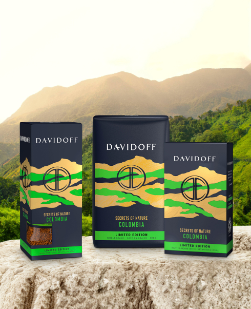 DAVIDOFF coffee - Limited edition Colombia