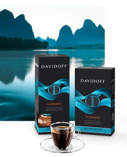 DAVIDOFF coffee – Limited Edition Elements