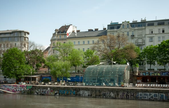 The Donaukanal in Vienna