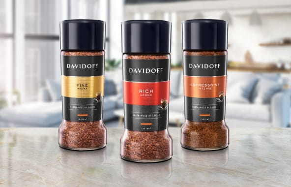 DAVIDOFF instant coffees