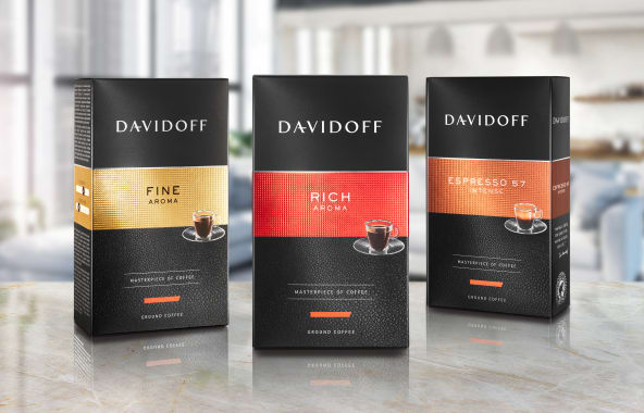 DAVIDOFF ground coffees